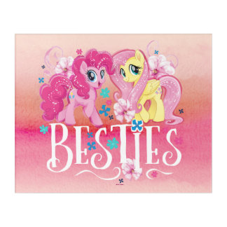 My Little Pony | Pinkie and Fluttershy - Besties Acrylic Print