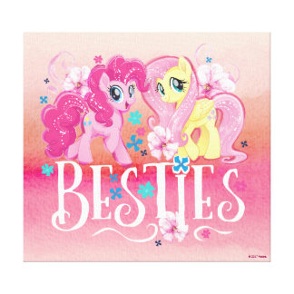 My Little Pony | Pinkie and Fluttershy - Besties Canvas Print