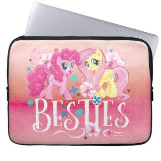My Little Pony   Pinkie and Fluttershy - Besties Laptop Sleeve