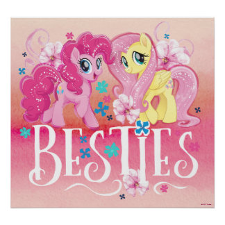 My Little Pony | Pinkie and Fluttershy - Besties Poster