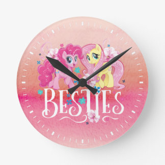 My Little Pony | Pinkie and Fluttershy - Besties Round Clock