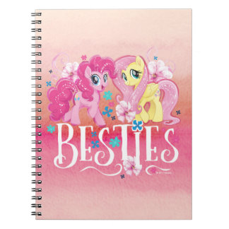 My Little Pony | Pinkie and Fluttershy - Besties Spiral Notebook