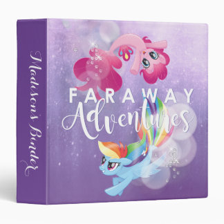 My Little Pony | Pinkie and Rainbow - Adventures 3 Ring Binder