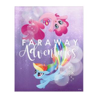 My Little Pony | Pinkie and Rainbow - Adventures Acrylic Print