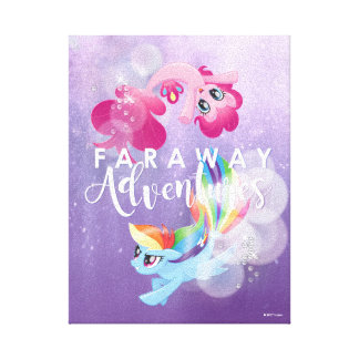 My Little Pony | Pinkie and Rainbow - Adventures Canvas Print