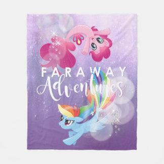 My Little Pony | Pinkie and Rainbow - Adventures Fleece Blanket