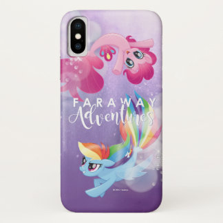 My Little Pony | Pinkie and Rainbow - Adventures iPhone X Case