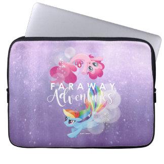 My Little Pony   Pinkie and Rainbow - Adventures Laptop Sleeve