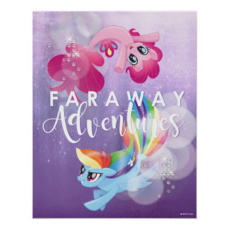 My Little Pony | Pinkie and Rainbow - Adventures Poster