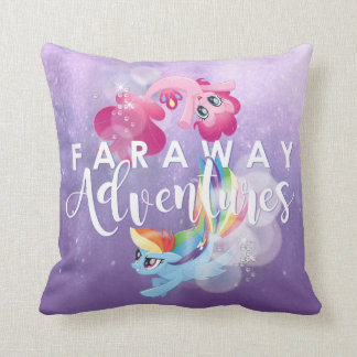 My Little Pony | Pinkie and Rainbow - Adventures Throw Pillow