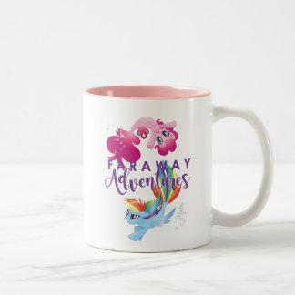 My Little Pony | Pinkie and Rainbow - Adventures Two-Tone Coffee Mug