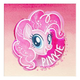 My Little Pony | Pinkie Pie Watercolor Acrylic Wall Art
