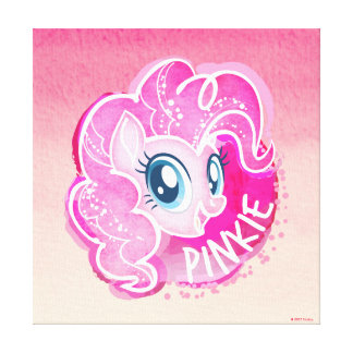 My Little Pony | Pinkie Pie Watercolor Canvas Print