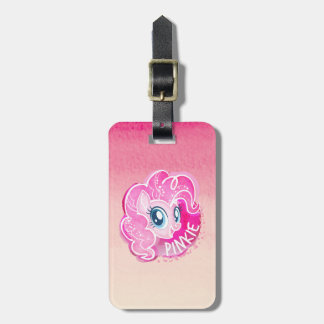 My Little Pony | Pinkie Pie Watercolor Luggage Tag