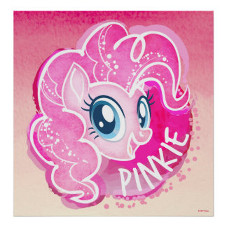 My Little Pony | Pinkie Pie Watercolor Poster