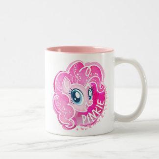 My Little Pony | Pinkie Pie Watercolor Two-Tone Coffee Mug