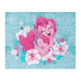 My Little Pony   Pinkie Running Through Flowers Acrylic Print