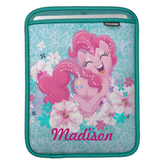 My Little Pony | Pinkie Running Through Flowers iPad Sleeve