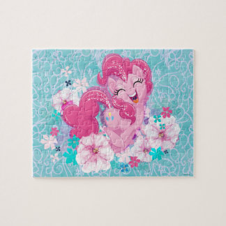 My Little Pony | Pinkie Running Through Flowers Jigsaw Puzzle
