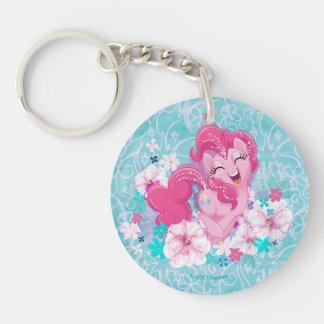 My Little Pony | Pinkie Running Through Flowers Keychain