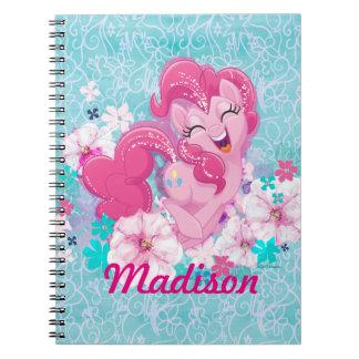 My Little Pony | Pinkie Running Through Flowers Notebook