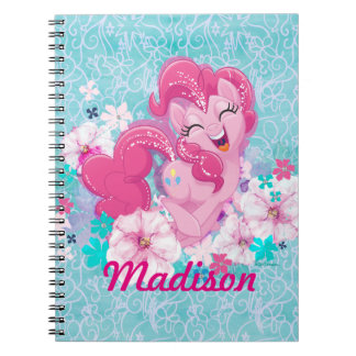 My Little Pony | Pinkie Running Through Flowers Notebooks