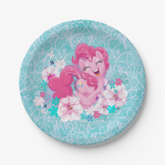 My Little Pony | Pinkie Running Through Flowers Paper Plate