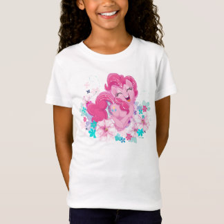 My Little Pony | Pinkie Running Through Flowers T-Shirt