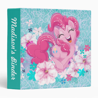 My Little Pony | Pinkie Running Through Flowers Vinyl Binders