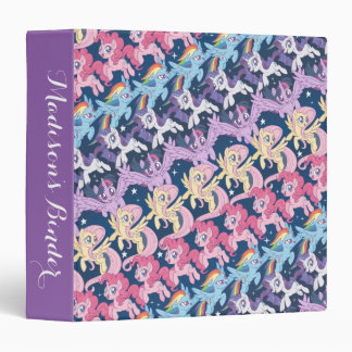 My Little Pony | Pony Rainbow Pattern Binder