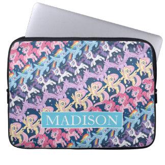 My Little Pony   Pony Rainbow Pattern Laptop Sleeve
