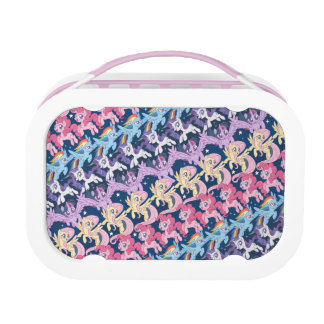 My Little Pony | Pony Rainbow Pattern Lunch Box