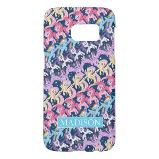 My Little Pony | Pony Rainbow Pattern Samsung Galaxy S7 Case