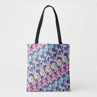 My Little Pony | Pony Rainbow Pattern Tote Bag