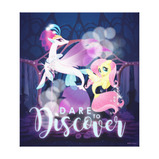 My Little Pony | Queen Novo and Fluttershy Canvas Print