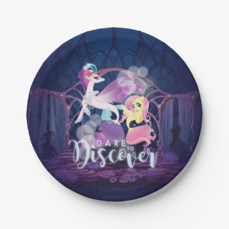 My Little Pony | Queen Novo and Fluttershy Paper Plate