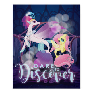 My Little Pony | Queen Novo and Fluttershy Poster