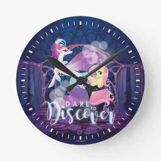 My Little Pony | Queen Novo and Fluttershy Round Clock