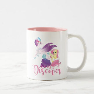 My Little Pony | Queen Novo and Fluttershy Two-Tone Coffee Mug