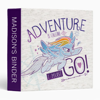 My Little Pony | Rainbow - Adventure Is Calling 3 Ring Binders