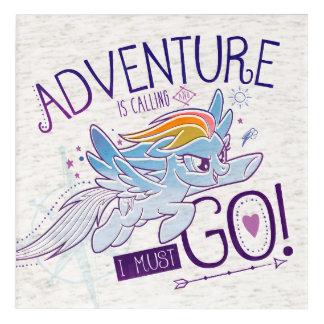 My Little Pony   Rainbow - Adventure Is Calling Acrylic Print