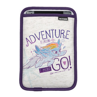 My Little Pony   Rainbow - Adventure Is Calling iPad Mini Sleeve