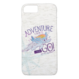 My Little Pony | Rainbow - Adventure Is Calling iPhone 8/7 Case
