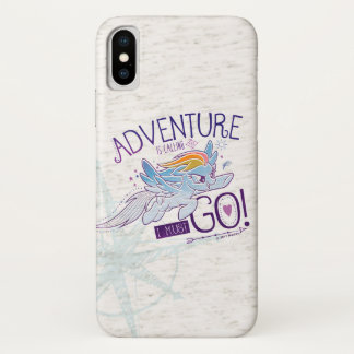 My Little Pony | Rainbow - Adventure Is Calling iPhone X Case