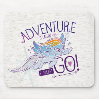 My Little Pony | Rainbow - Adventure Is Calling Mouse Pad