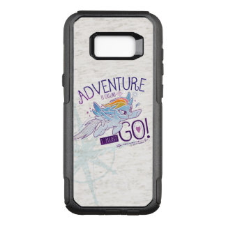 My Little Pony | Rainbow - Adventure Is Calling OtterBox Commuter Samsung Galaxy S8+ Case