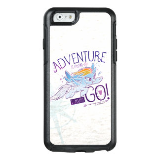 My Little Pony | Rainbow - Adventure Is Calling OtterBox iPhone 6/6s Case