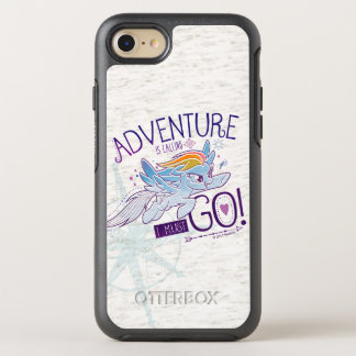 My Little Pony | Rainbow - Adventure Is Calling OtterBox Symmetry iPhone 7 Case