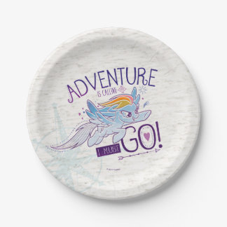 My Little Pony | Rainbow - Adventure Is Calling Paper Plate