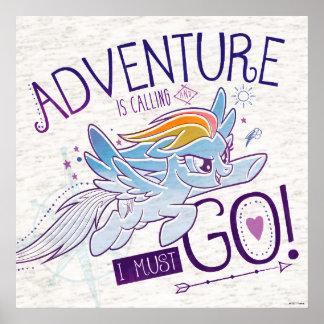 My Little Pony | Rainbow - Adventure Is Calling Poster